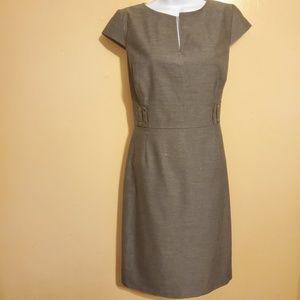Tahari Arthur S. Levine Midi Dress